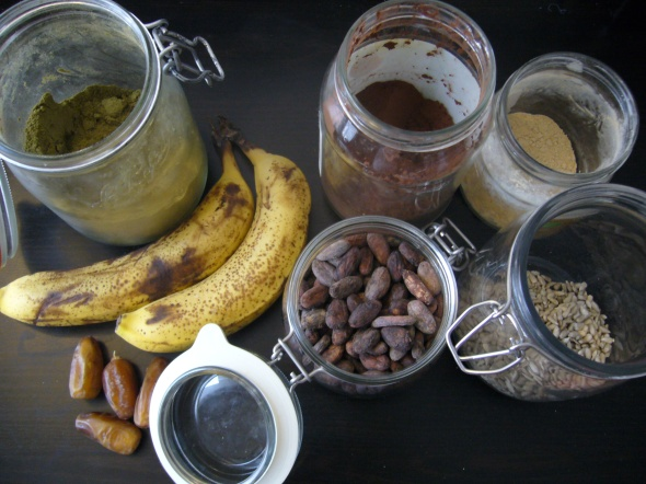 Smoothie Rodeo Cacao Ingredients